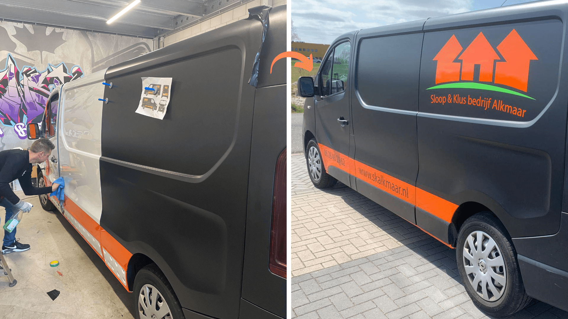 Auto Belettering - Before & After II